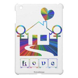 Lesbian Rainbow Home-Love Case For The iPad Mini
