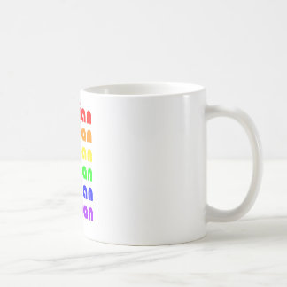 Lesbian Rainbow Coffee Mugs