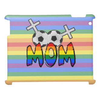 Lesbian Soccer Mom (w/ rainbow) Case For The iPad 2 3 4