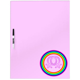 Lesbian Symbol Board Dry Erase Boards
