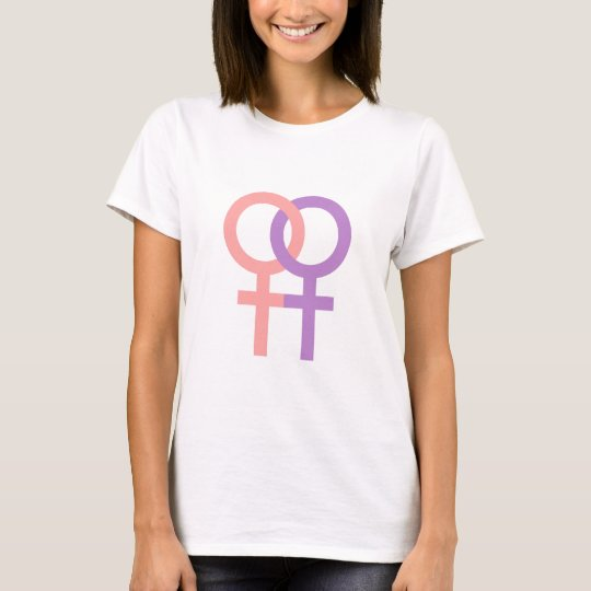 Lesbian Symbol -Gay/LGBT/Coming Out/Feminism/Pride T-Shirt