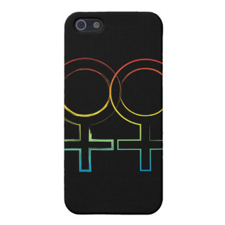 lesbian symbol iPhone SE/5/5s case