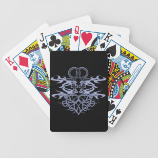 Lesbian Tribal Heart Cards Bicycle Playing Cards