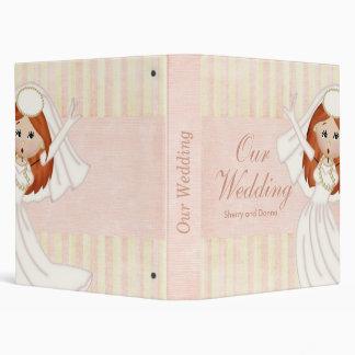 Lesbian Wedding Album 3 Ring Binder