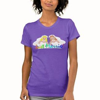 Lesbian Wedding Bride T-shirts