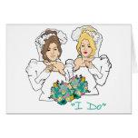 Lesbian Wedding Card