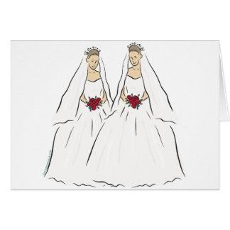 Lesbian Wedding Cards