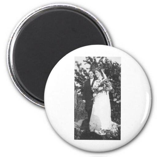 Lesbian Wedding Circa 1920 Refrigerator Magnets