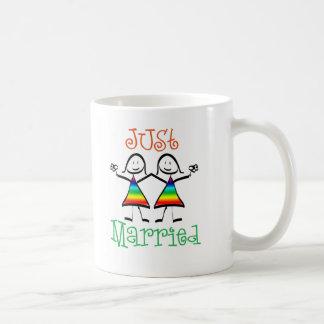 Lesbian Wedding Favors Classic White Coffee Mug