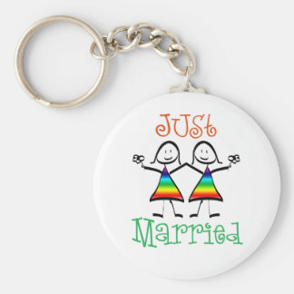 Lesbian Wedding Favors Key Chain