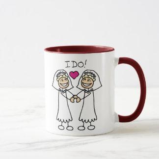 Lesbian Wedding Favors Mug