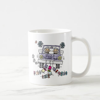 Lesbian Wedding Just Married Mug
