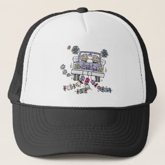 Lesbian Wedding Just Married Trucker Hat