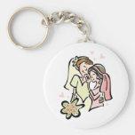 Lesbian Wedding Keychains