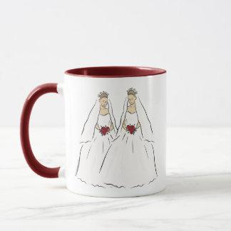 Lesbian Wedding Mug