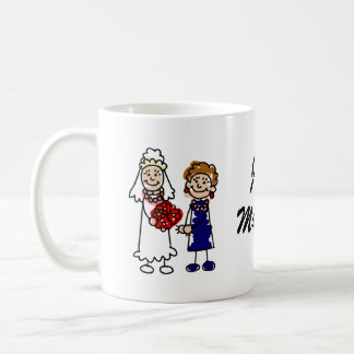 Lesbian Wedding One Bride Coffee Mug