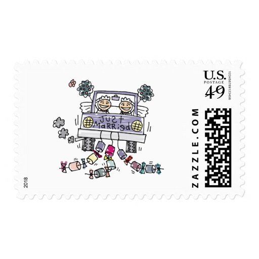 Lesbian Wedding Stamps
