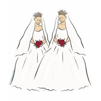 Lesbian Wedding shirt