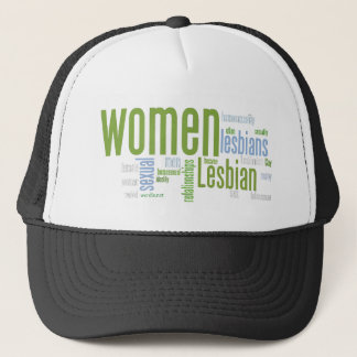 Lesbian Words Trucker Hat