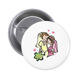 Lesbians in Love Button