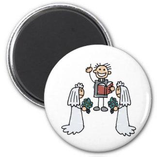 Lesbians & Preacher Magnet