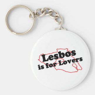 Lesbos Is For Lovers Keychain