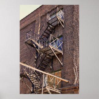 L'Escalier Poster