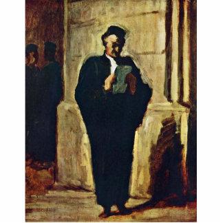 Lesender Lawyer By Daumier Honoré Photo Cutout