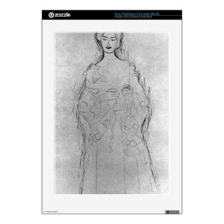 Lesendes girls II by Gustav Klimt Decals For PS3