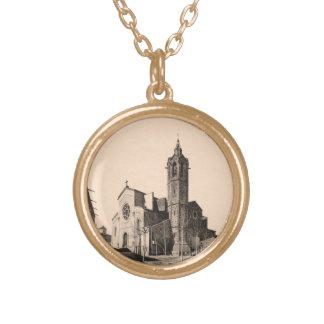 L'Esgésia - Sant Andreu of the Boat Gold Plated Necklace