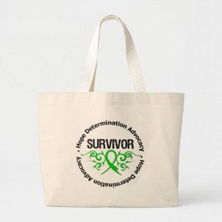 Lesión cerebral traumática del superviviente bolsas de mano