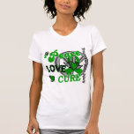 Lesión cerebral traumática TBI de la curación 2 Camiseta