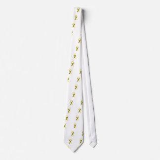Lesión de la médula espinal corbata personalizada