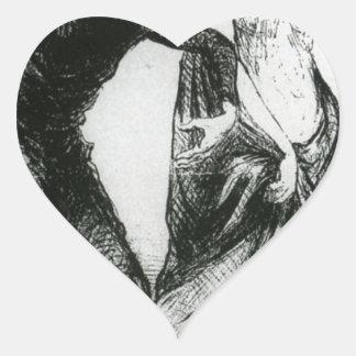 Lesión hermosa, quisiera que usted aceptara mi pegatina en forma de corazón