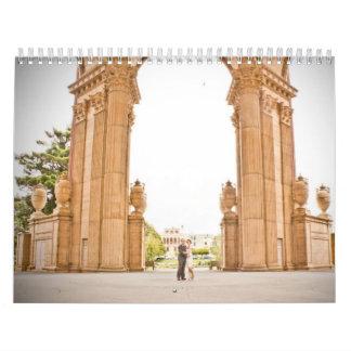 Lesley & Ali's Wedding Calendar