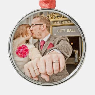 Lesley & Ali's Wedding Ornament