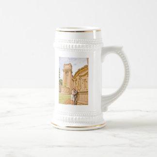 Lesley & Ali's Wedding Stein Mug