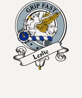 Leslie Clan Badge Tshirt