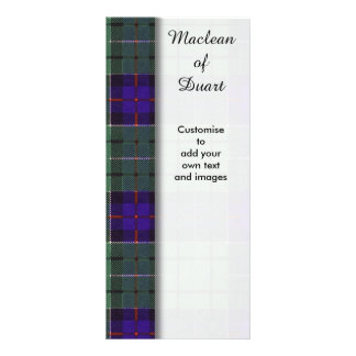 Leslie clan Plaid Scottish tartan Rack Card