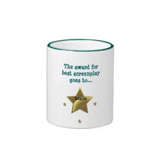 LESLIE El premio para el mejor guión Tazas De Café