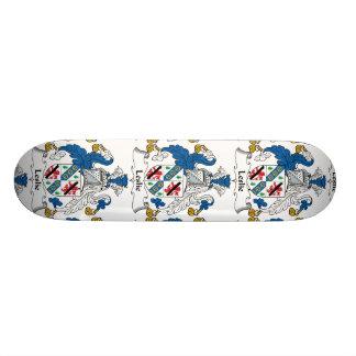 Leslie Family Crest Skate Deck