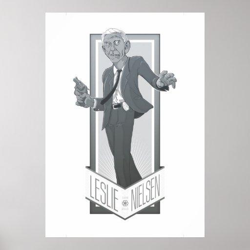 Leslie Nielsen, A Tribute Poster
