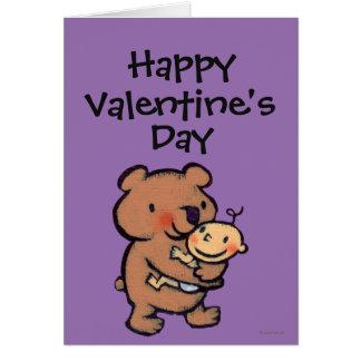 Leslie Patricelli Big Brown Bear Hug Card