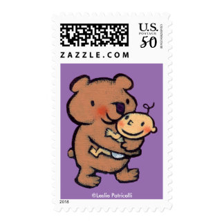 Leslie Patricelli Big Brown Bear Hug Postage