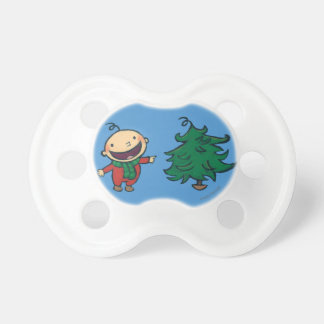 Leslie Patricelli's Baby Chooses a Christmas Tree Pacifier