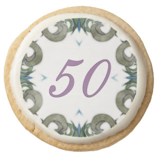 Leslie Round Shortbread Cookie