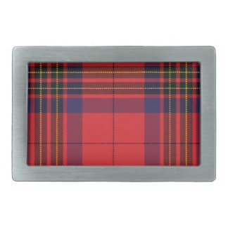 Leslie Scottish Tartan Belt Buckle