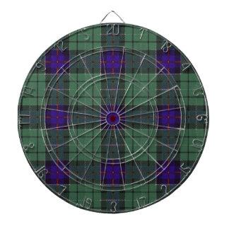 Leslie Scottish Tartan pattern Dart Board