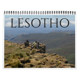 lesotho 2021 calendar