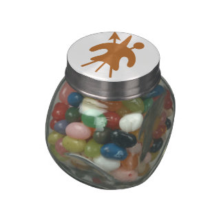 Lesotho Glass Candy Jars